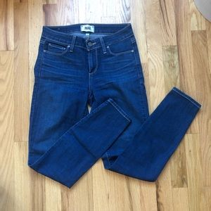 PAIGE NYC High Waisted Denim